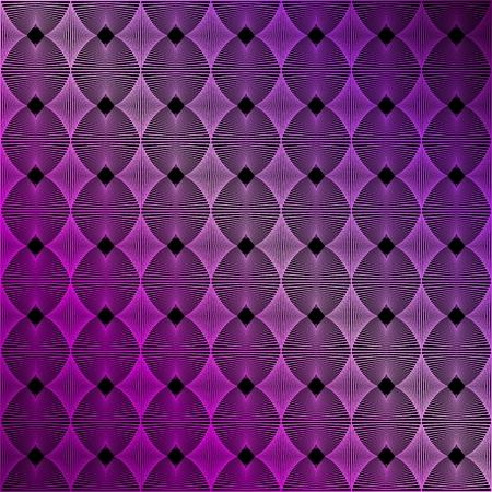 무지개 빛깔의 분홍색과 보라색 추상 니트 패턴 일러스트