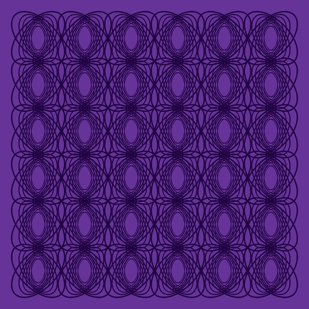 Knitted dark lilac pattern Illustration