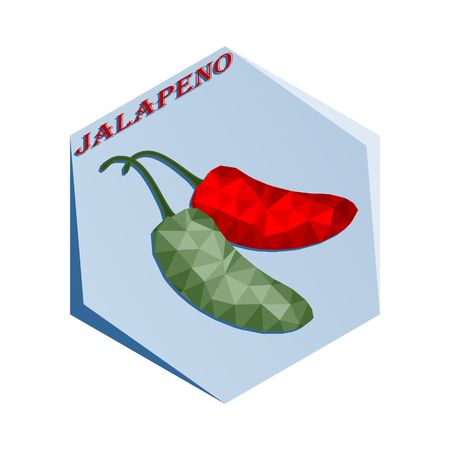 Label for seasoning Jalapenjo