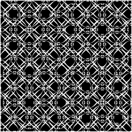 Lacy black and white pattern two