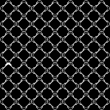 Lacy black and white pattern