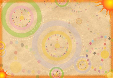 esoterics: Abstract paper background with patterns