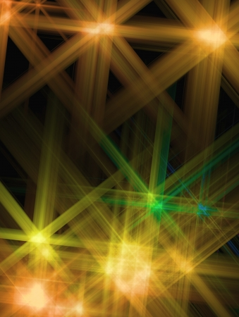 shone: Abstract background with a shone Yellow star