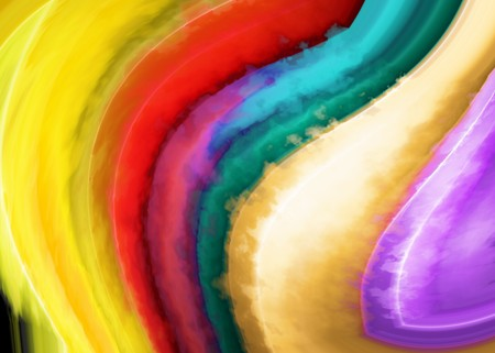 strips away: Abstract background with colour strips
