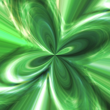 strip structure: Abstract background with green streams of energy