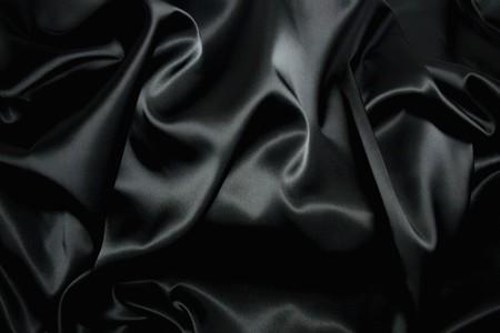 texture of a black silk Stock Photo - 4146434