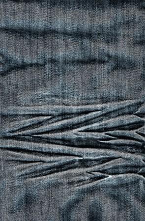 Estructura de una tela de jeans Foto de archivo - 4146496