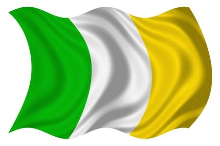 Flag of Ireland Stock Photo - 4311489