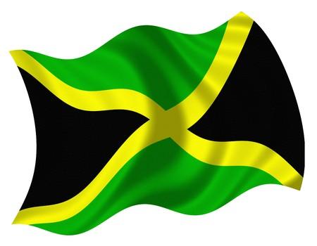 Flag of Jamaica Stock Photo - 4353639