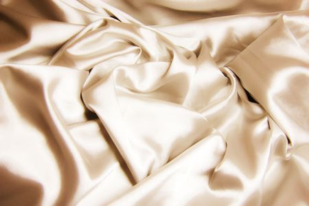 texture of golden silk photo