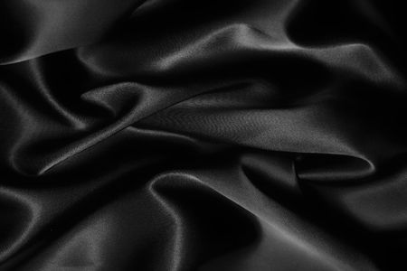 texture of a black silk