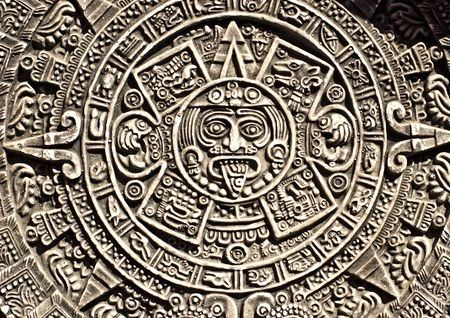 esoterics: Pagan ornament of a tribe Maya
