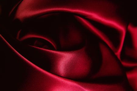 texture of a red silk