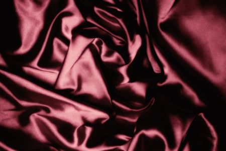 claret: texture of claret silk Stock Photo