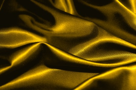 texture of a gold satin extreme close up Stok Fotoğraf