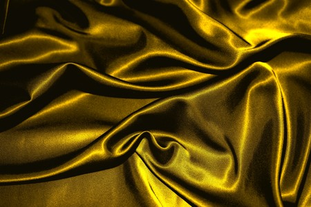 texture of a gold satin extreme close up Stock Photo - 7754273