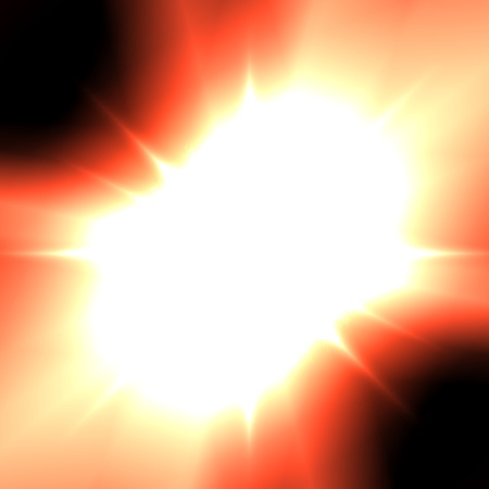 solar flare: Abstract background. A solar flare