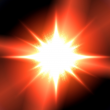 solar flare: Abstract background illustration   A solar flare closeup