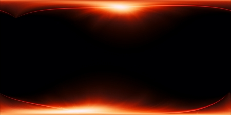 Abstract fiery background with curved lines  illustration Stock Illustration - 18877117