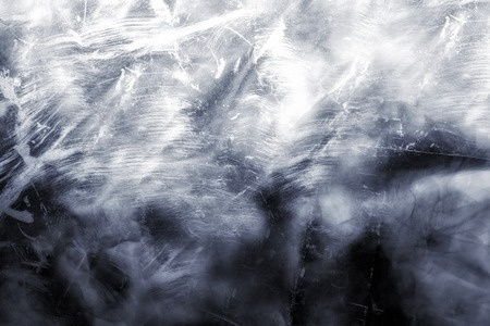 soot: The texture of white walls with patches of soot Stock Photo