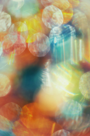 golden light: Bright abstract background with blurred multicolored flares