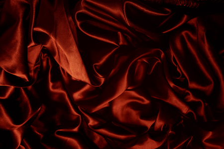 texture of a red silk close up Imagens