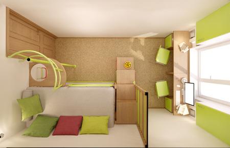 Farbe Fürs Kinderzimmer | Kinderzimmer In Hellen Farben Mit Naturlichen Materialien Gemacht