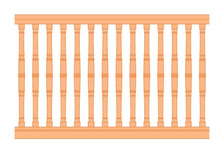 railing: seamless vintage railing