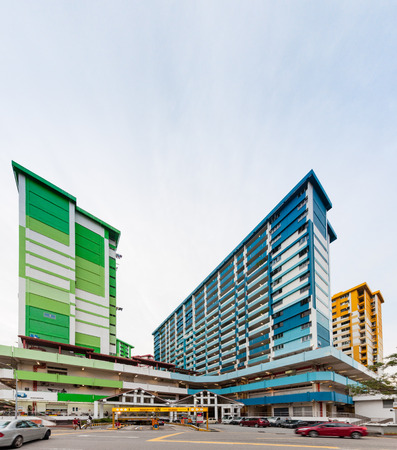 hdb: Singapore, 23 JUNE 2016 : Prominent landmark of Rochor Centre, slated to be demolished in 2016 to make way for new highway.