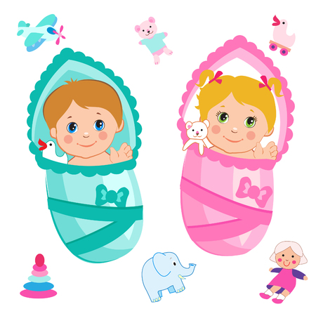 baby girl: Baby Girl And Baby Boy. Cartoon Vector On A White Background. Baby Girl Clothes. Baby Girl Toys. Baby Girl Dresses. Baby Girl Games. Baby Girl Meme. Baby Girl Emoji. Baby Boy Games.