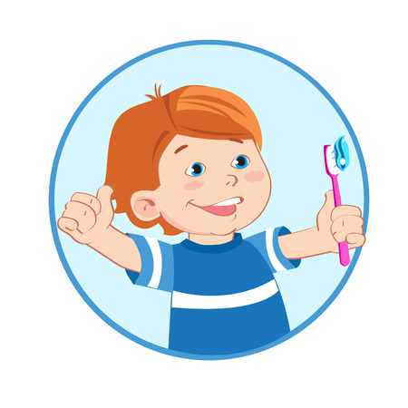 sanitizer: Boy With A Toothbrush In Hand. Boy Giving A Thumbs Up Sign Gesture. Brush Teeth. Cartoon Vector Illustrations. Toothbrush Sanitizer. Toothbrush Image.Tooth Decay. Tooth Infection. Tooth Sensitivity.