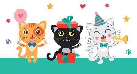 memes: Set Of Cute Little Cats. Cartoon Animal. Vector Collection. Congratulates Card. Cutie Cat Pictures. Cutie Cat Memes. Cutie Cat Drawing. Cat Costume. Cat As Pet. Cat As Toy.