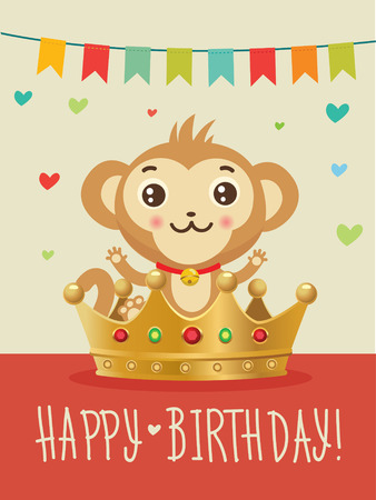Happy Birthday To You Wish Humour Friendship Greeting Card