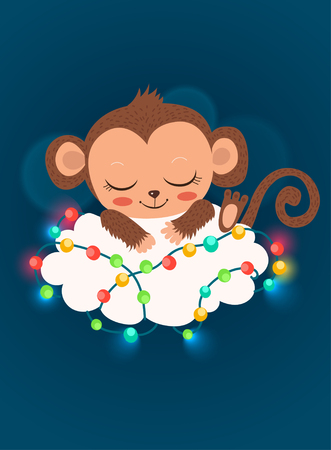 baby monkey: Cute Baby Monkey And Garlands. Cartoon Vector Happy New Year Card. Baby Monkey For Sale. Sleeping Monkey. Baby Monkey Doll. Baby Monkey Toy. Baby Monkey Costume. Baby Monkey Picture.