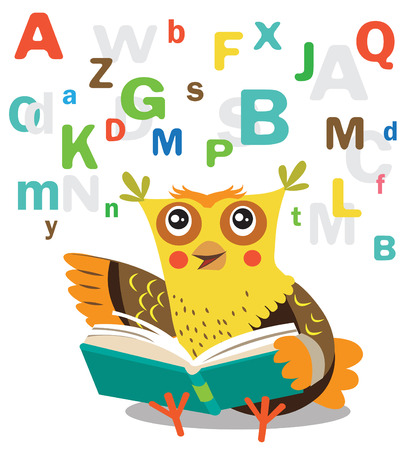 memes: Funny Owl Learn To Read Book On A White Background. Cartoon Vector Illustrations. Owl Picture. Owl Memes. Owl Jokes. Owl Sayings. Owl Champion. Owl Gifts. Owl Toy. Owl Sticker. Owl Costume.