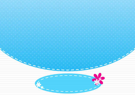 lanscape: Background cyan pattern lanscape Illustration