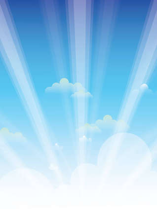 Sky wallpaper Stock Vector - 13578401