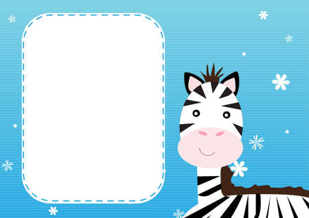 Zebra background Vector