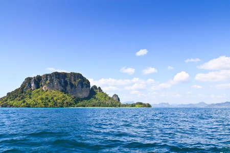 Island in Krabi province, Thailand Stock Photo