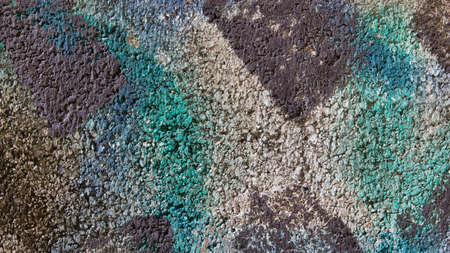 Colorful concrete texture and background