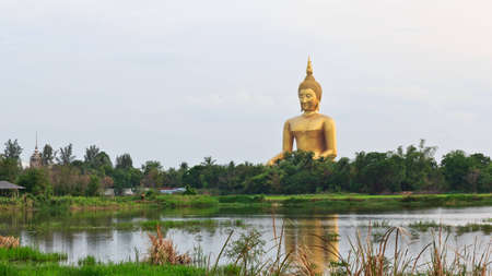 The big buddha from thailand