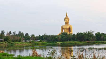 budda: The big buddha from thailand