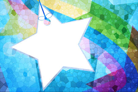 Abstract star for background and wallpaper