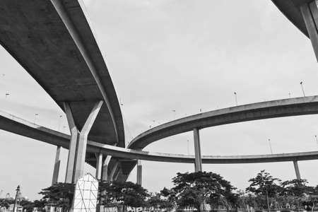 King Bhumibol Bridge in bangkok from Thailand  photo