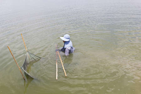 The Gardener work in Thailand Stock Photo