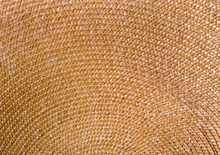 Circular background from rattan fibers  photo