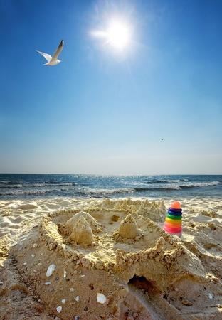 del: Sand castle