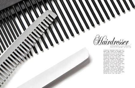 thinning: Scissors, Thinning shear on white background