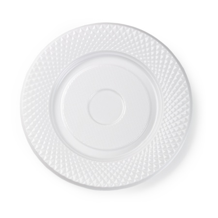 white plate: Empty white plate isolated on white