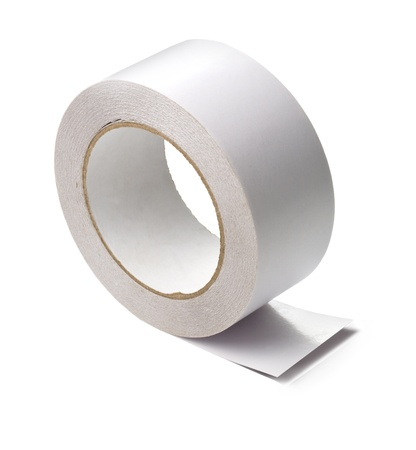 a roll of white adhesive tape photo